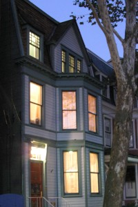 Historic Annapolis Home for Sale night view